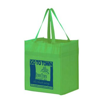 Imprinted Y2K Heavy Duty Grocery Bags - thumbnail view 5