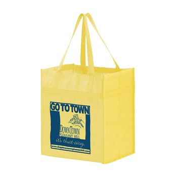 Imprinted Y2K Heavy Duty Grocery Bags - thumbnail view 9