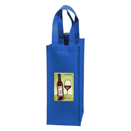 Imprinted Wine Collection Bags - detailed view 1