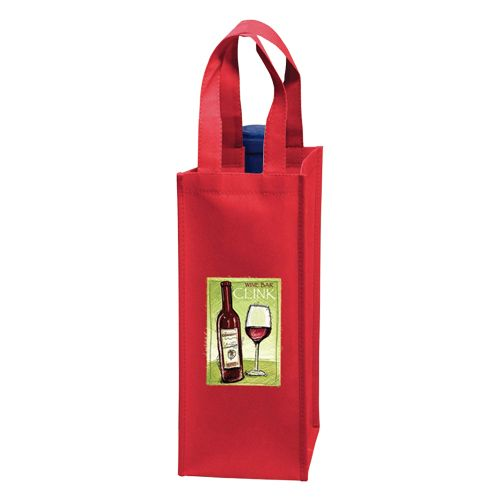 Imprinted Wine Collection Bags - detailed view 2