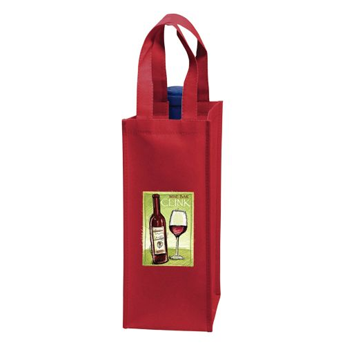 Imprinted Wine Collection Bags - detailed view 4