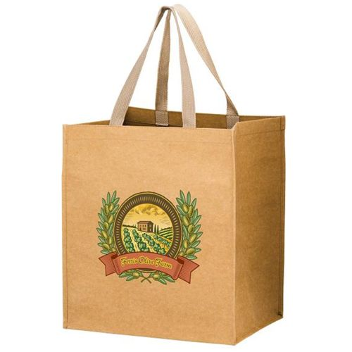 Imprinted Washable Paper Bags - thumbnail view 3