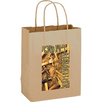 Imprinted Paper Shopping Bags - 16 X 6 X 12