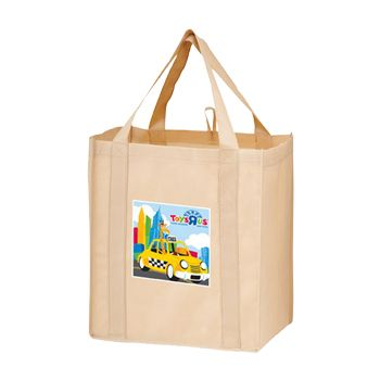 Imprinted Y2K Wine & Grocery Combo Bags - 13 X 10 X 15