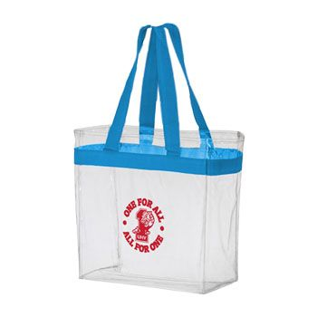 Custom Stadium Crystal Clear Tote - thumbnail view 1