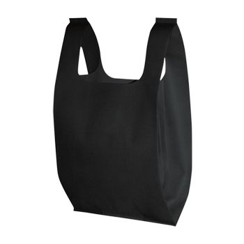 Custom Non-Woven T-Shirt Bags - thumbnail view 5