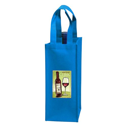 Custom Wine Tote - detailed view 7