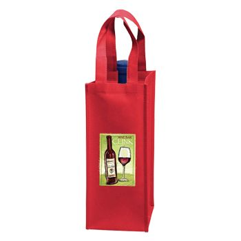 Custom Wine Tote - thumbnail view 2