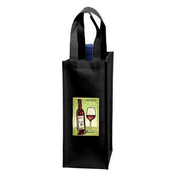 Custom Wine Tote - thumbnail view 3