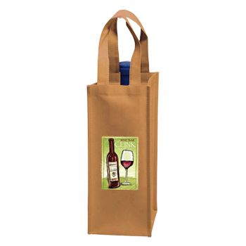 Custom Wine Tote - thumbnail view 5