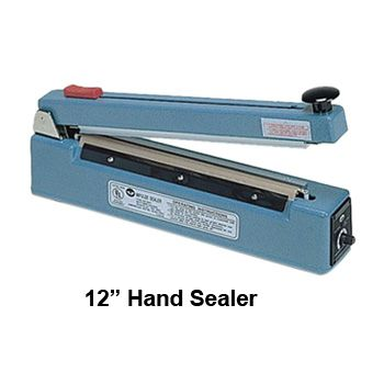 Impulse Sealers with Cutter - 16