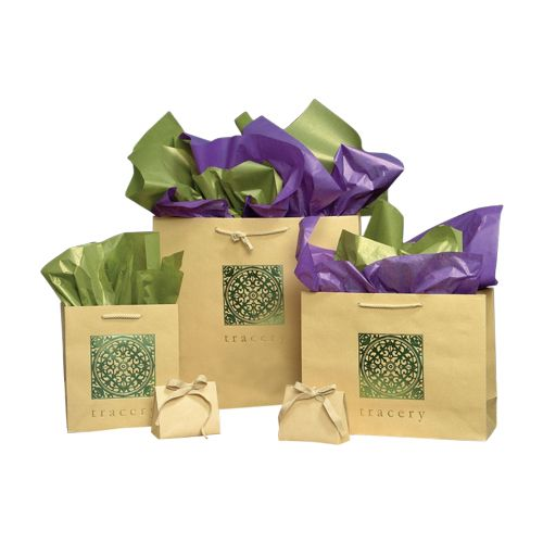 Bamboo Eurotote Paper Bags - detailed view 1