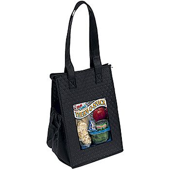 Imprinted Thermo Super Snack Totes - thumbnail view 2