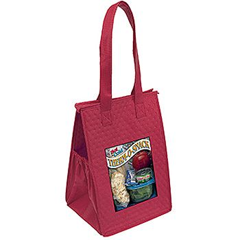Imprinted Thermo Super Snack Totes - thumbnail view 4