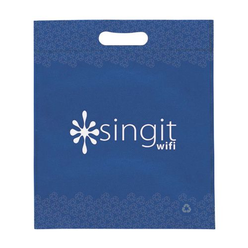 Imprinted Non-Woven Die Cut Bags - detailed view 3