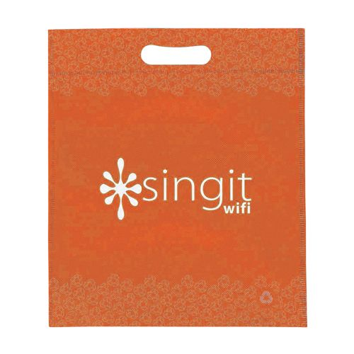 Imprinted Non-Woven Die Cut Bags - detailed view 5