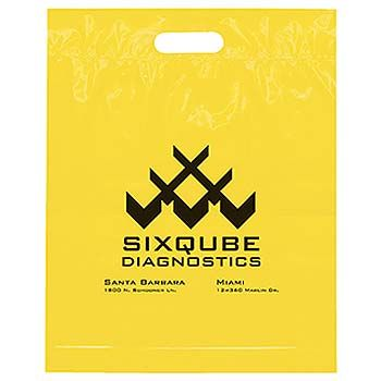 Imprinted Die Cut Handle Bags - thumbnail view 3