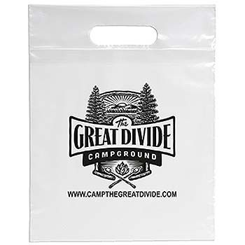 Imprinted Die Cut Handle Bags - thumbnail view 8