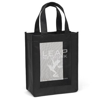 Imprinted Mesh Panel Totes - thumbnail view 3