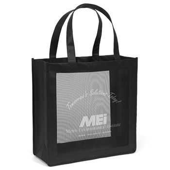 Imprinted Mesh Panel Totes - thumbnail view 7