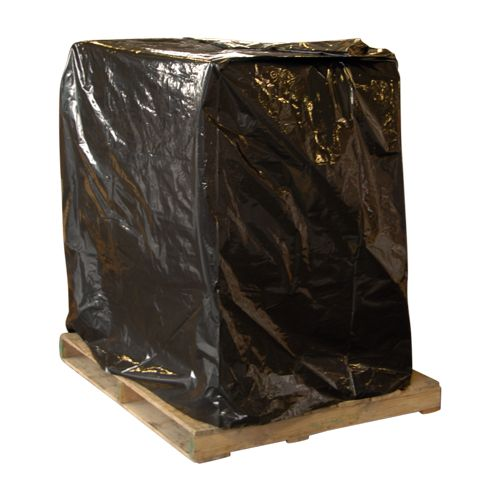 Black Pallet Covers with UVI - detailed view 1