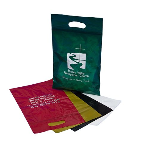 Reclosable Die Cut Handle Bags - thumbnail view 3
