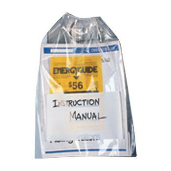 Polypropylene Drawstring Bags W/ White B - thumbnail view 1