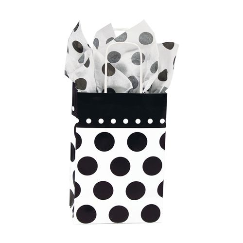 Domino Dots Paper Shopping Bags - detailed view 1