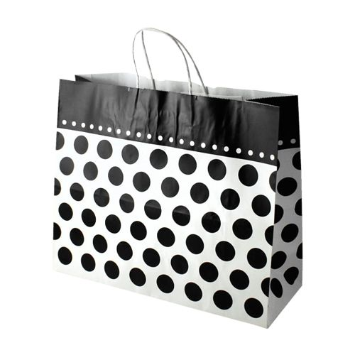 Domino Dots Paper Shopping Bags - detailed view 3