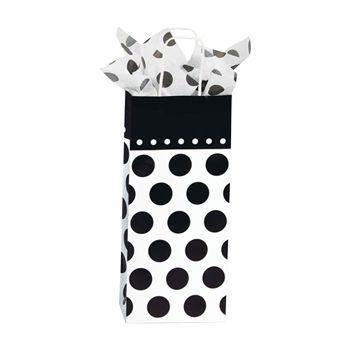 Domino Dots Paper Shopping Bags - thumbnail view 4