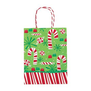 Contempo Canes Paper Shopping Bags - thumbnail view 1