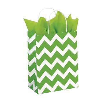 Recycled White Kraft Shopping Bags - thumbnail view 6