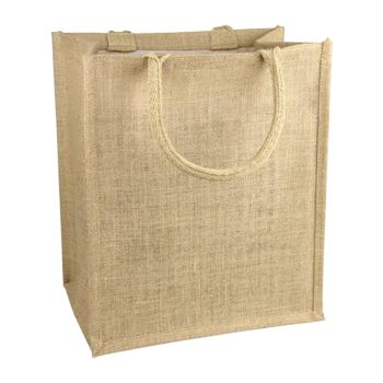 Jute Shopping Tote - thumbnail view 1