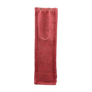 Jute Wine Bags W/Rope Handles - thumbnail view 3