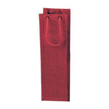 Jute Wine Bags W/Rope Handles - thumbnail view 4