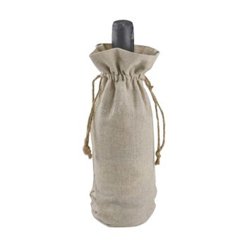 Linen Wine Bag - thumbnail view 1