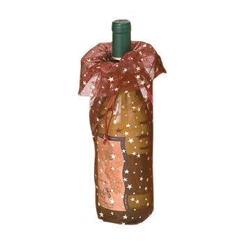 Star Print Wine Bags - thumbnail view 1