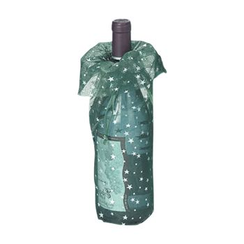 Star Print Wine Bags - thumbnail view 2