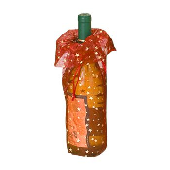 Star Print Wine Bags - thumbnail view 3