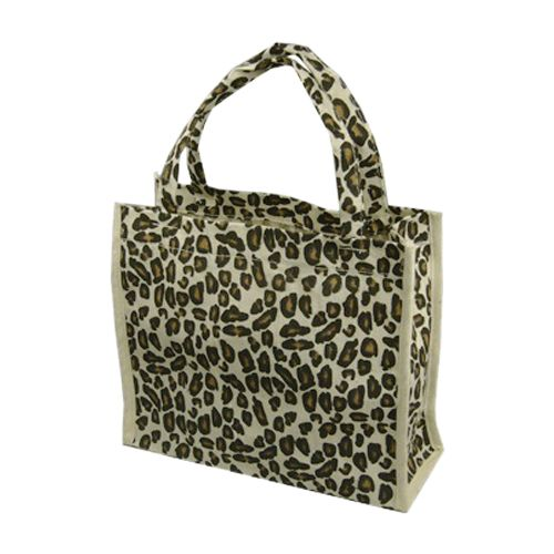 Animal Print Cotton Totes - detailed view 5