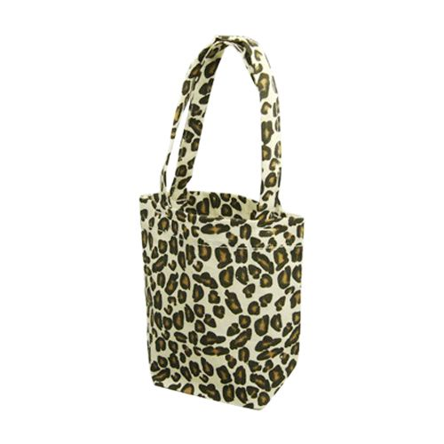 Animal Print Cotton Totes - detailed view 6
