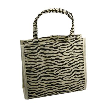 Animal Print Cotton Totes - thumbnail view 1