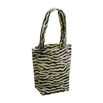 Animal Print Cotton Totes - thumbnail view 2
