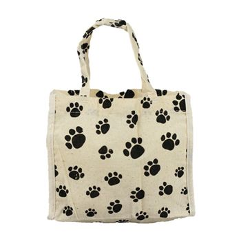 Animal Print Cotton Totes - thumbnail view 3