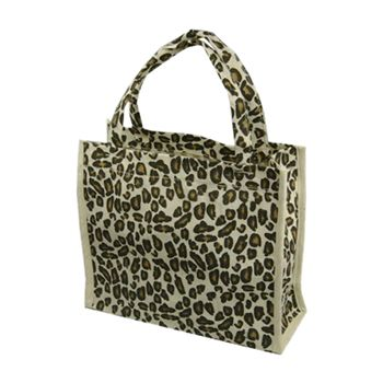 Animal Print Cotton Totes - thumbnail view 5