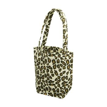 Animal Print Cotton Totes - thumbnail view 6
