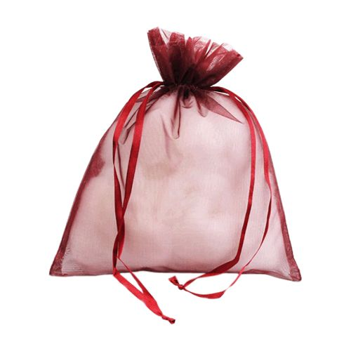 Organza Bag W/Ribbon String - detailed view 3