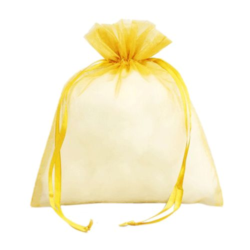 Organza Bag W/Ribbon String - detailed view 6