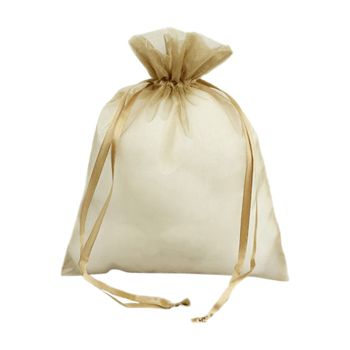 Organza Bag W/Ribbon String - thumbnail view 1