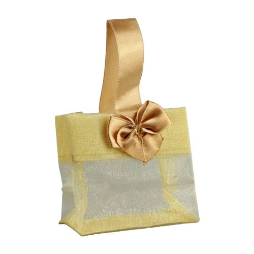 Sheer Tote W/Satin Handle - detailed view 2